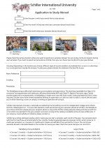 Study Abroad Application  - thumb opt