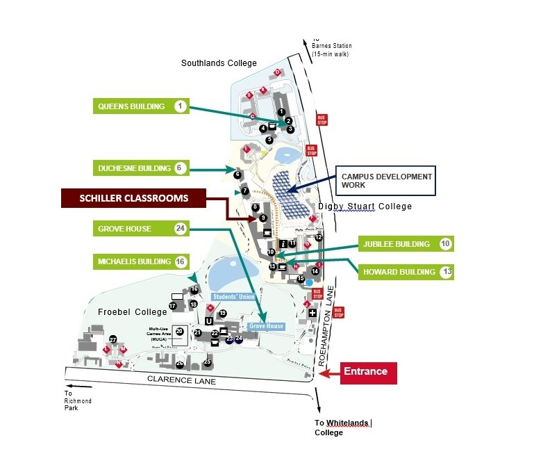 Heidelberg University Campus Map.About Siu London Schiller International University Madrid